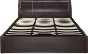 @home by Nilkamal Engineered Wood Queen Bed With Storage