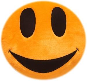 Lehar Toys Cushion Smiley Love  - 15 cm