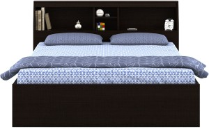 Spacewood Arcade Engineered Wood Queen Bed With Storage