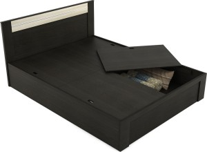 Spacewood Delta Engineered Wood Queen Bed With Storage