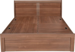 @home by Nilkamal Engineered Wood King Bed With Storage