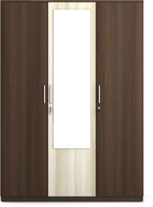 Spacewood Crescent Engineered Wood 3 Door Wardrobe