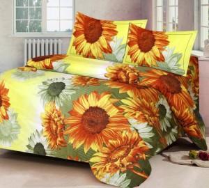 6a3969c150d IDOLESHOP Polycotton 3D Printed Double Bedsheet 1 Bedsheet 2 Pillow ...