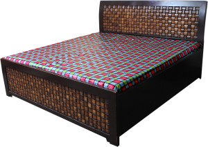 Ryka Printed Double Bedsheet ( 1 Piece Pvc Bed Sheet Multicolor )