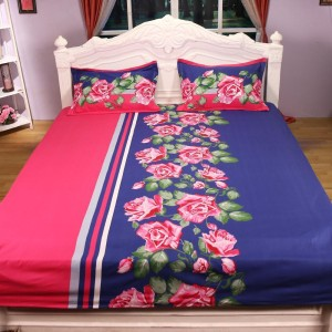 Status Cotton Floral King sized Double Bedsheet