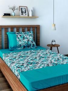 fb35c6611e Swayam Cotton Printed Single Bedsheet 1 Single Bedsheet 1 Pillow ...