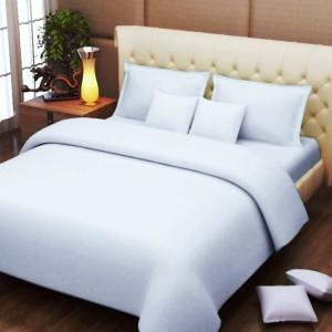 Bombay Mills Cotton Plain Double Bedsheet