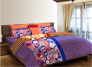 Home Expressions USA Cotton Printed Single Bedsheet