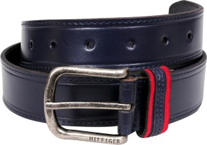 8c70d02691 Tommy Hilfiger Men Casual Formal Blue Genuine Leather Belt Best Price in  India