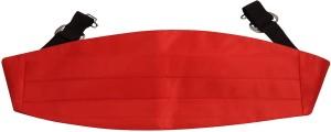 Tiekart Men Casual Red Fabric Belt