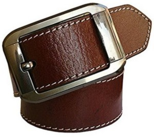 VR Enterprises Men Casual, Party, Formal Brown Genuine Leather Belt