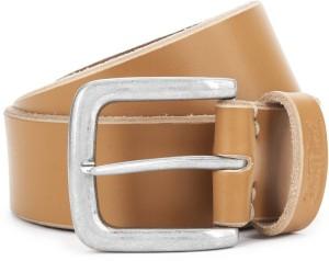 172e53930c9 Levi s Men Tan Genuine Leather Belt Best Price in India