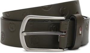 Tommy Hilfiger Men Casual Green Genuine Leather Belt