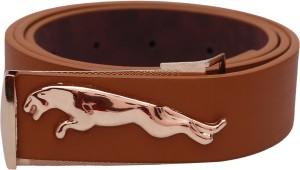 Stylehoops Boys Formal Brown Artificial Leather Belt