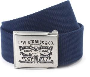 e53bf5cbdf9 Levi s Men Blue Canvas Belt Best Price in India