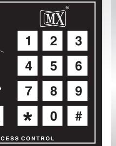 MX Digital Keypad Numeric Time Attendance Access Control System Time &  Attendance, Access ControlCard, ID
