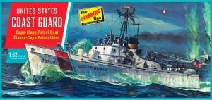 Lindberg USA 1/82 Scale US Coast Guard Cape-Class Patrol Boat Plastic Model Kit