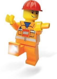 Lego City Dynamo Torch Construction Worker