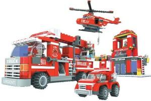ToysBuggy Fire Brigade Blocks