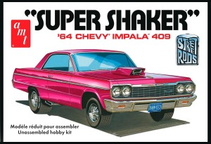 AMT USA 1/25 Scale '64 Chevy Impala 409