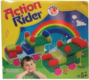 DCS Rider Blocks Kits For Kids(Multicolor)