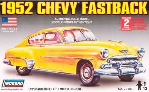 Lindberg USA 1/32 Scale 1952 Chevy Fastback Plastic Model Kit