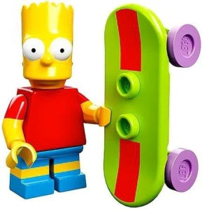 Lego 71005 The Simpson Series Bart Simpson Character Minis