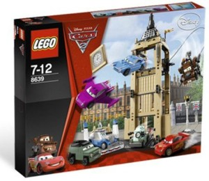 Lego Cars Big Bentley Bust Out 8639
