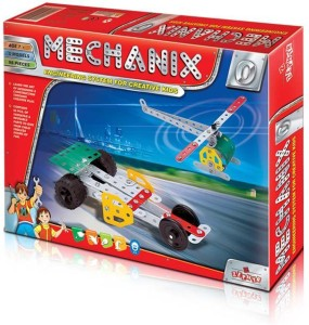 Wish Kart Mechanix Metal Extra Fun and Creativity Loaded for Boys and Girls (98 Pieces)