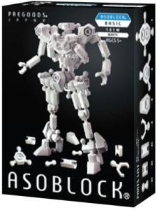 ASOBLOCK Basic 100 pcs (white)