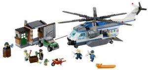 Lego City - Helicopter Surveillance