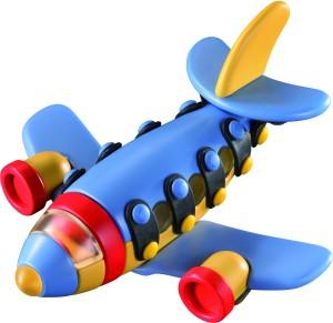 Mic O Mic Small Jet Plane - Construction Toy