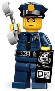 Lego 71000 Series 9 Mini Police Man