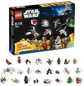 Lego Star Wars 2011 Advent Calendar 7958