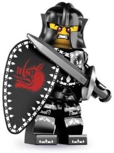 Lego Series 7 Evil Knight Mini