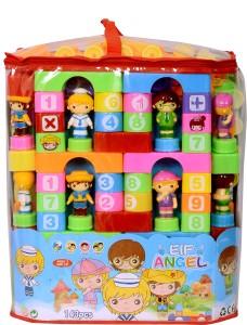 Planet of Toys Educational Puzzle Blocks Set 143 PCS (Big Size)