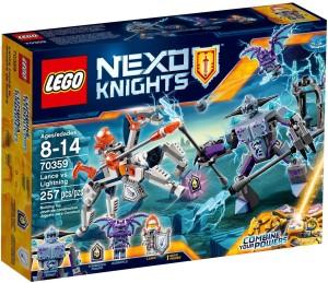 Lego Lance vs Lightning