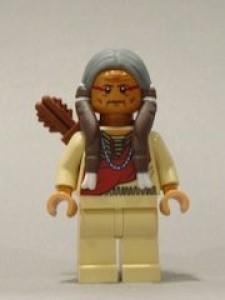 Lego Lone Ranger Chief Big Bear Mini