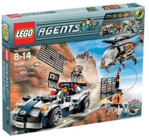 Lego Agents Turbocar Chase