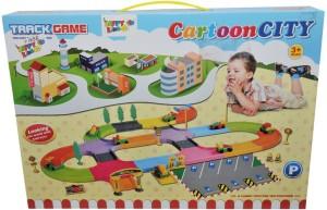 Happy Kidz CARTOON CITY TRACK GAME