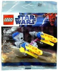 Lego Star Wars Mini Building Set 30057 Anakins Podracer Bagged