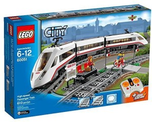Lego City Trains Highspeed Passenger Train 60051 Building