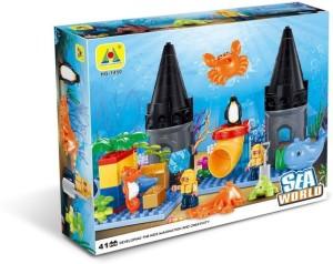 Toys Bhoomi Underwater Sea World Building Block Set - 41 Pieces