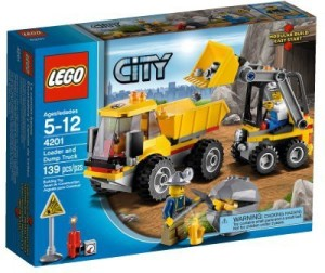 Lego City Loader & Dump Truck