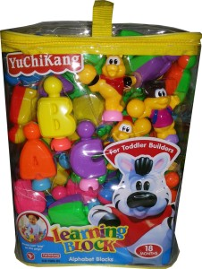 Toyzstation Learning Alphabet Blocks