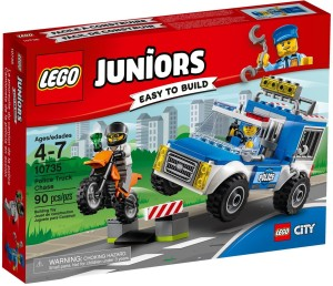 Lego Police Truck Chase