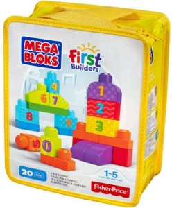 Mega Blocks First builders 1-2-3 Count