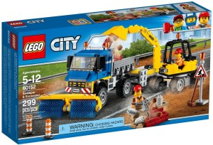Lego Sweeper & Excavator