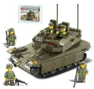 Sluban Merkava Tank 343 Pieces Building Blocks Set