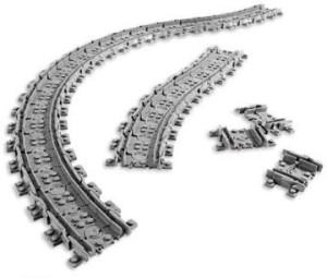 Unknown Lego Flexible Train Track 8867